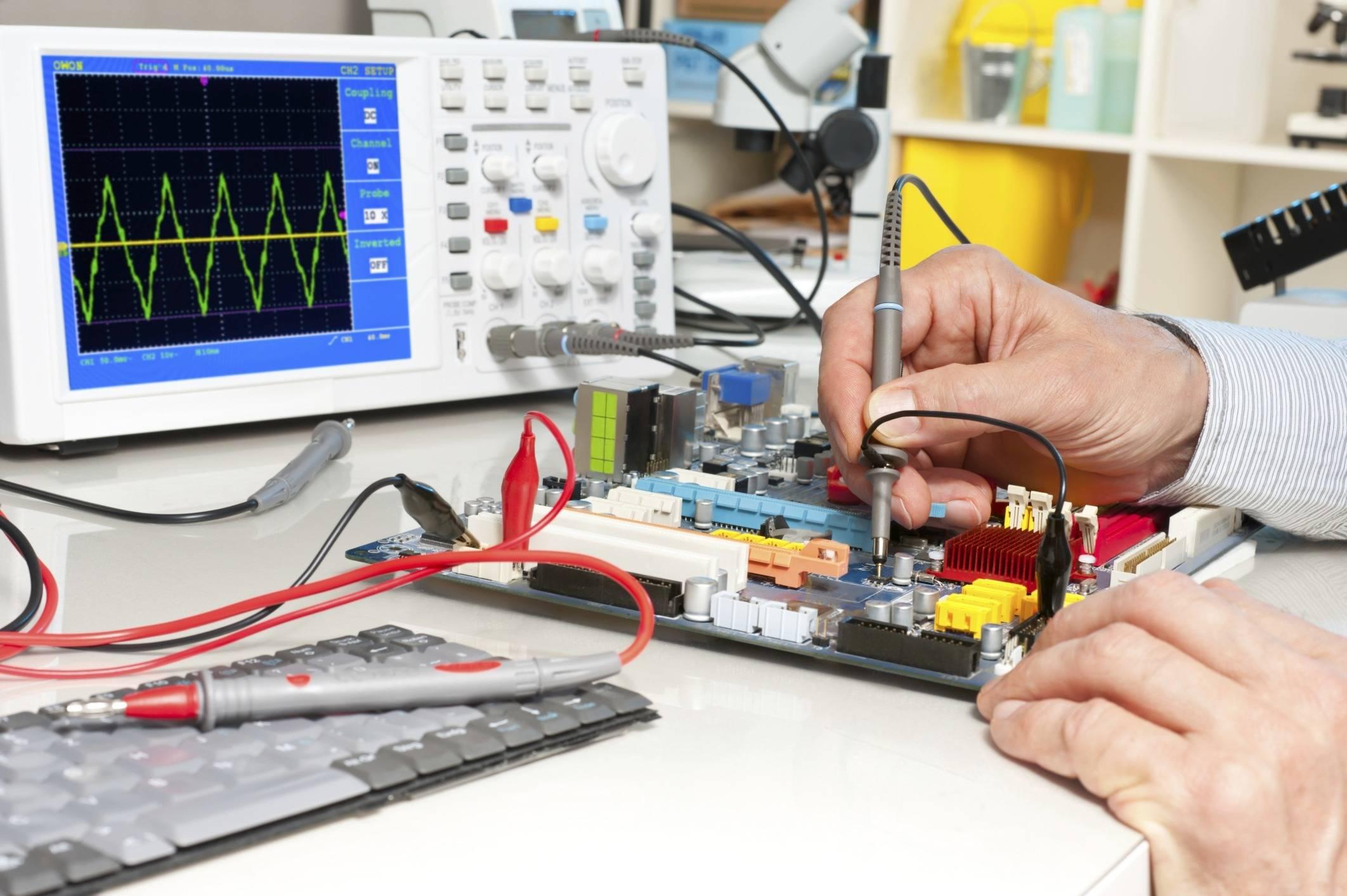Диагностика промышленной электроники